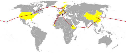 The_Amazing_Race_6_map