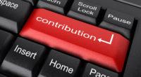 Aktualizace účtu pro finanční příspěvky